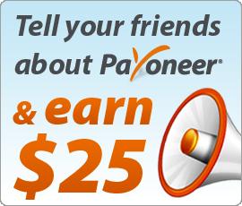 Hướng dẫn Đăng Ký Payoneer Miễn Phí Để Nhận $25 Tiền Thưởng