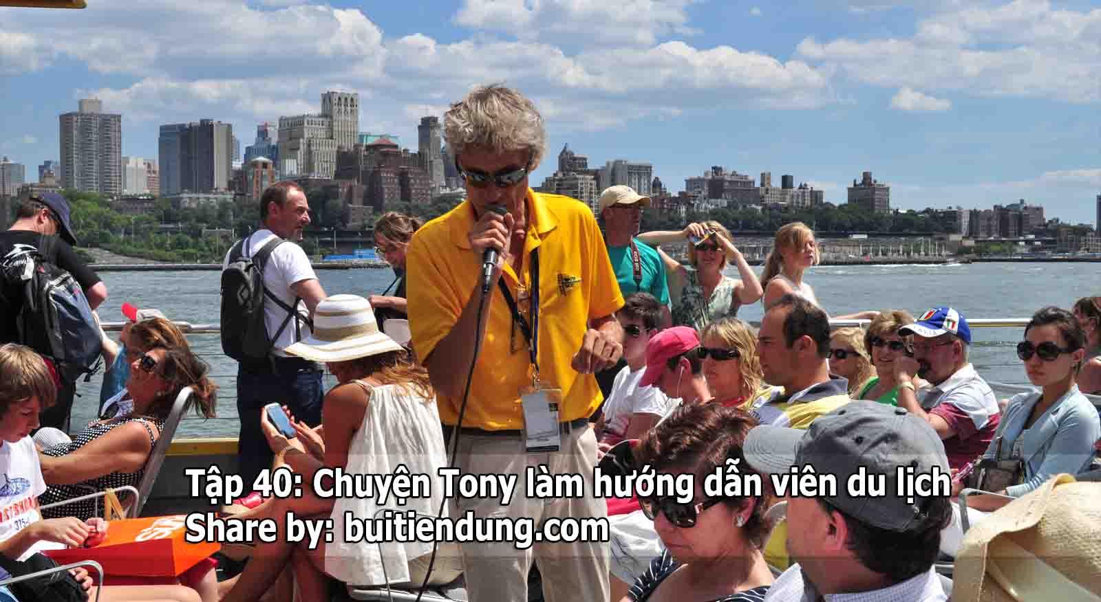 Tập 40: Chuyện Tony làm hướng dẫn viên du lịch – Trên đường băng