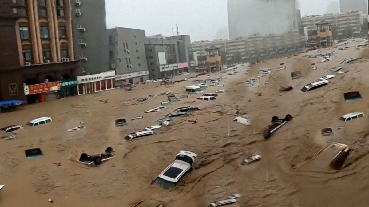 Zhengzhou Floods China July 2021 1627014447899184984141